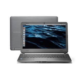 NOTEBOOK MULTILASER CORE I3/4GB/120GB SSD/LINUX - PC402